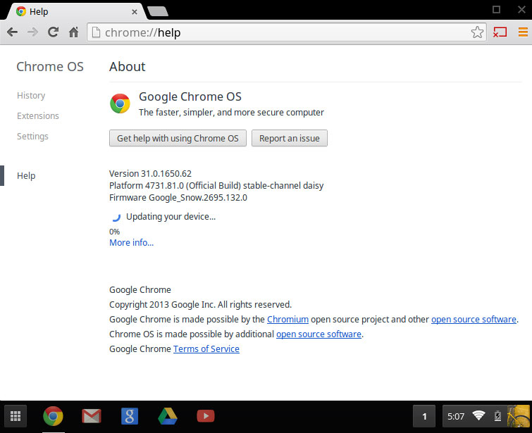 Updating the os of a chromebook or chromebox chrome update ccuart Choice Image