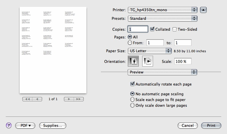 Powerschool Printing Address Labels Reportworks